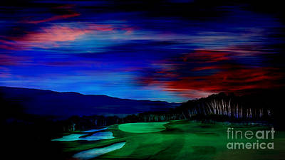 Golf Mixed Media - Golf by Marvin Blaine