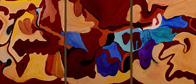 Abstract Painting - Goliad - Orig Sold by Paul Anderson