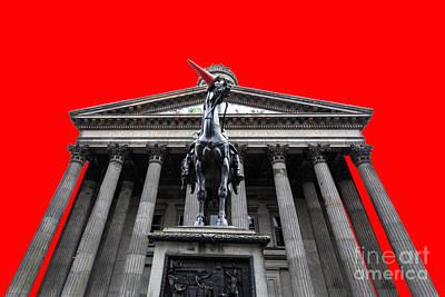 Goma Pop Art Red Print by John Farnan