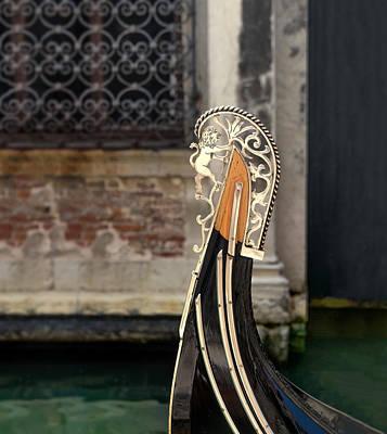 Gondola Print by A Rey
