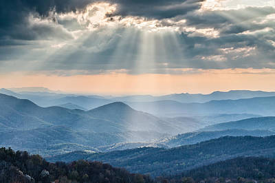 Good Afternoon From Max Patch Print by Rob Travis