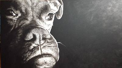 Painting - Good Dog by Scott Robinson
