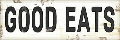 Good Eats Print by Jennifer Pugh