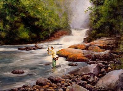 Good Fishing Sold Print by Michael Swanson