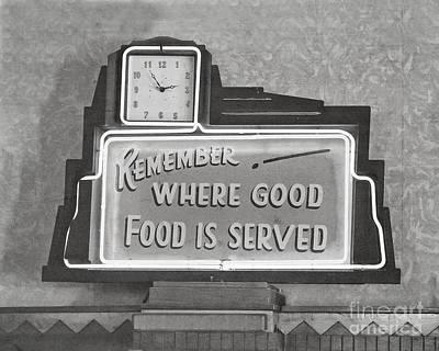 Good Food Is Served Print by Kay Pickens