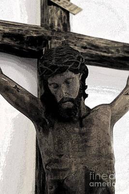 Good Friday Crucifixion Print by Al Bourassa