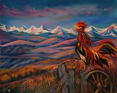 Good Morning Alberta  Print by Anna  Duyunova