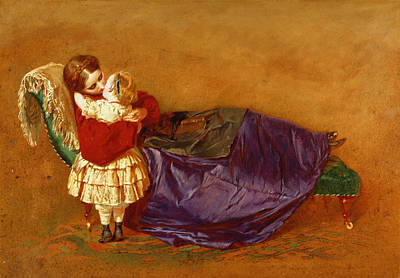 Good Night, 1863 Print by George Elgar Hicks