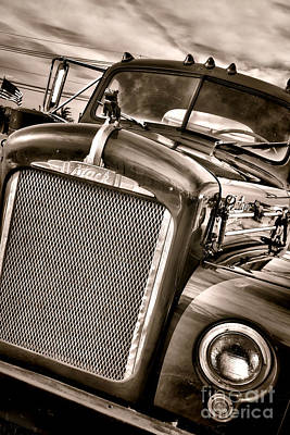 Duotone Photograph - Good Old Mack by Olivier Le Queinec