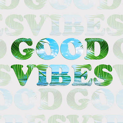 Good Vibes  Print by Mark Ashkenazi