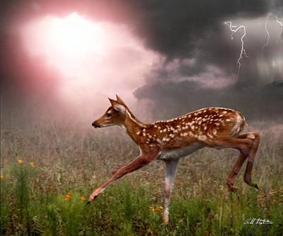 Goodbye Bambi Original by Bill Stephens