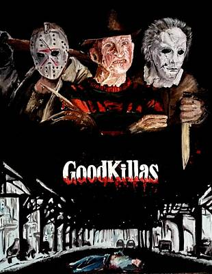 Goodkillers Print by S G Williams