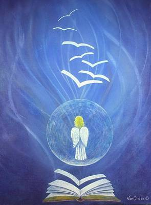 Goodnews Healing Print by Richard Van Order