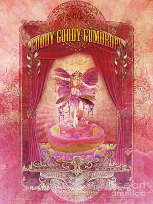 Goody Goody Gumdrops Print by Aimee Stewart