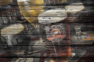 Handcrafted Photograph - Goose Island by Joe Hamilton