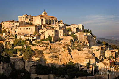 Hill Town Photograph - Gordes by Louise Heusinkveld