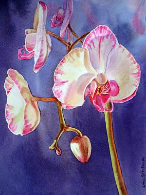 Outdoor Still Life Painting - Gorgeous Orchid by Irina Sztukowski