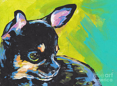 Chihuahua Dog Art Painting - Got Chi? by Lea S