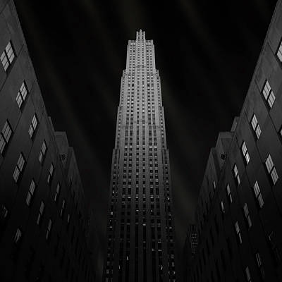 Tourist Attractions Photograph - Gotham by Ben Rea