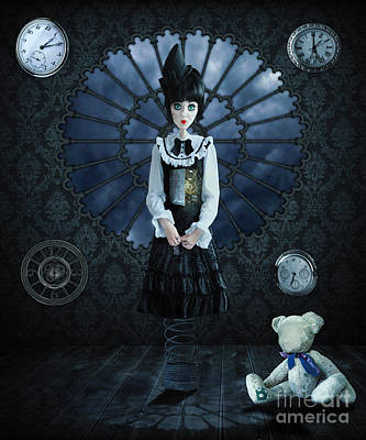 Magical Photograph - Gothic Girl by Juli Scalzi