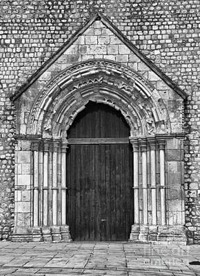 Portal Photograph - Gothic Portal by Jose Elias - Sofia Pereira