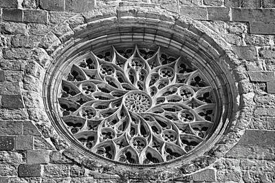 Gothic Rosette Print by Jose Elias - Sofia Pereira