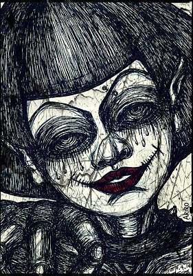 Gothic Smile Print by Akiko Kobayashi