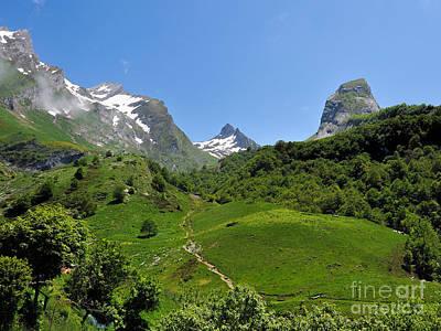 Pau Photograph - Gourette France - 02 by Graham Taylor