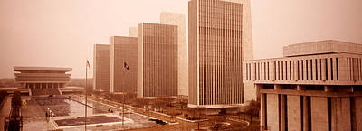 Government Center, Albany, New York Print by Panoramic Images