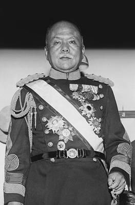 Governor General Of Korea Print by Underwood Archives