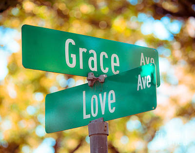 Grace And Love Photo Print by Sonja Quintero