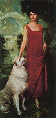 American First Lady Painting - Grace Coolidge, First Lady by Science Source