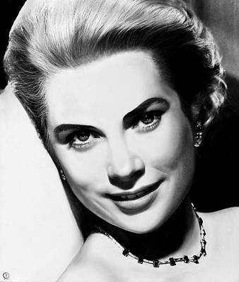 Grace Kelly By Diegokoi Print by DiegoKoi