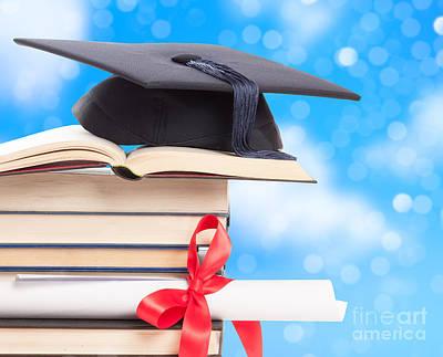 Graduation  Print by Amanda And Christopher Elwell