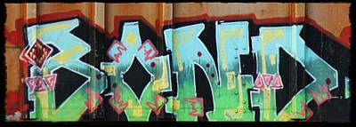Train Photograph - Graffiti - Bond by Graffiti Girl