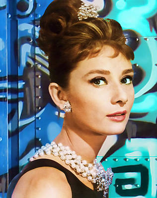 Tiffany Photograph - Graffiti - Breakfast At Tiffany's by Graffiti Girl