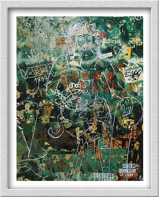 Painting - Graffiti Cat by Eve Riser Roberts