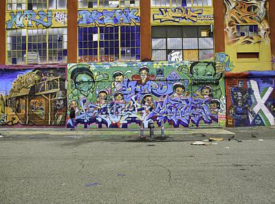 Graffiti Crisis Print by E Osmanoglu