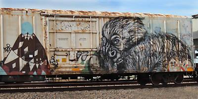 Graffiti - Gorilla Print by Graffiti Girl