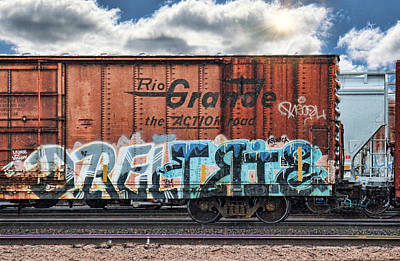 Graffiti - Graffiti Ghost Print by Graffiti Girl