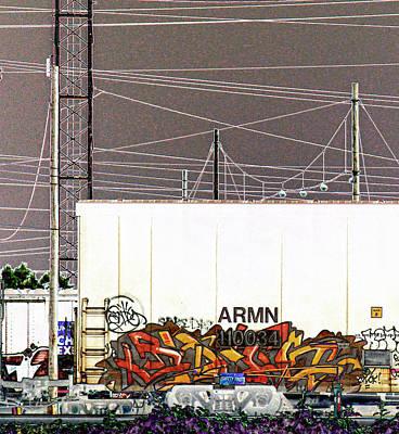 Graffiti - Industrial Graff Print by Graffiti Girl