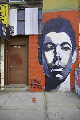 Graffiti Jane Print by E Osmanoglu