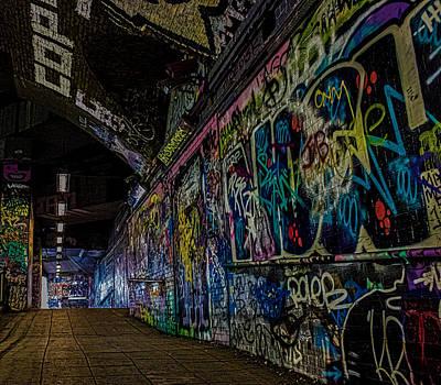 Citylife Photograph - Graffiti Leake Street London by Martin Newman