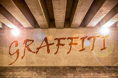 Graffiti Print by Semmick Photo