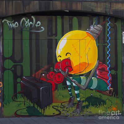 Graffiti Stokes Croft Print by Brian Roscorla