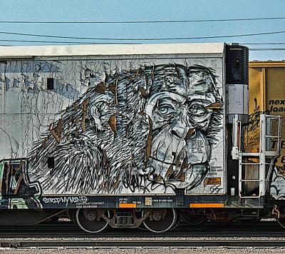 Graffiti - Weathered  Print by Graffiti Girl