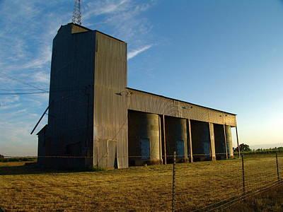 Digital Photograph - Grainery #1 by John Norman Stewart