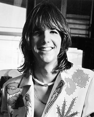 Parsons Photograph - Gram Parsons by Silver Screen
