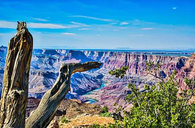 Grand Canyon Photograph - Grand Canyon Vista's by Tod and Cynthia Grubbs