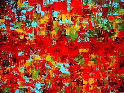 Abstracto Mixed Media - Granada Roadtrip by Holly Anderson